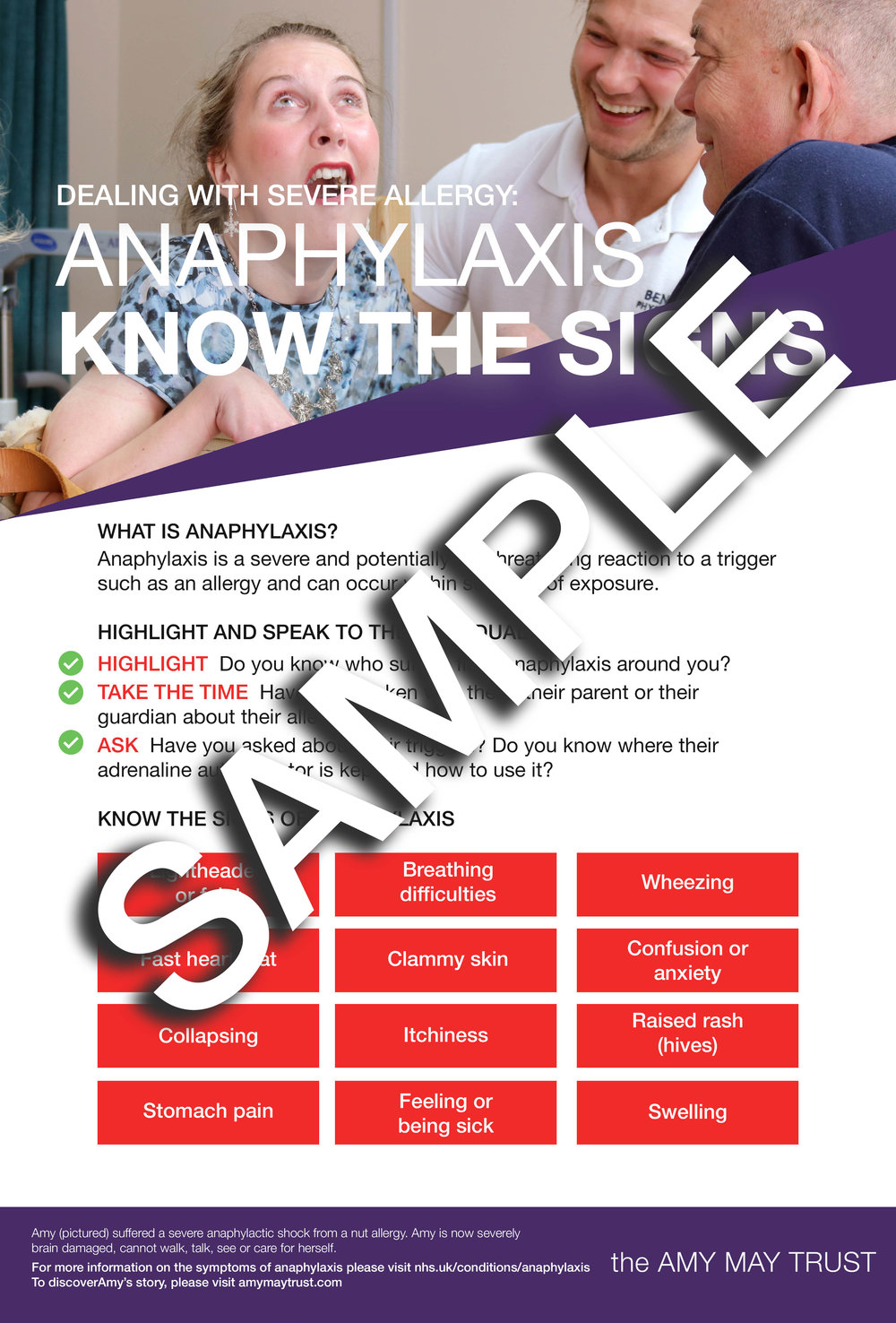 Anaphylaxis: Know The Signs