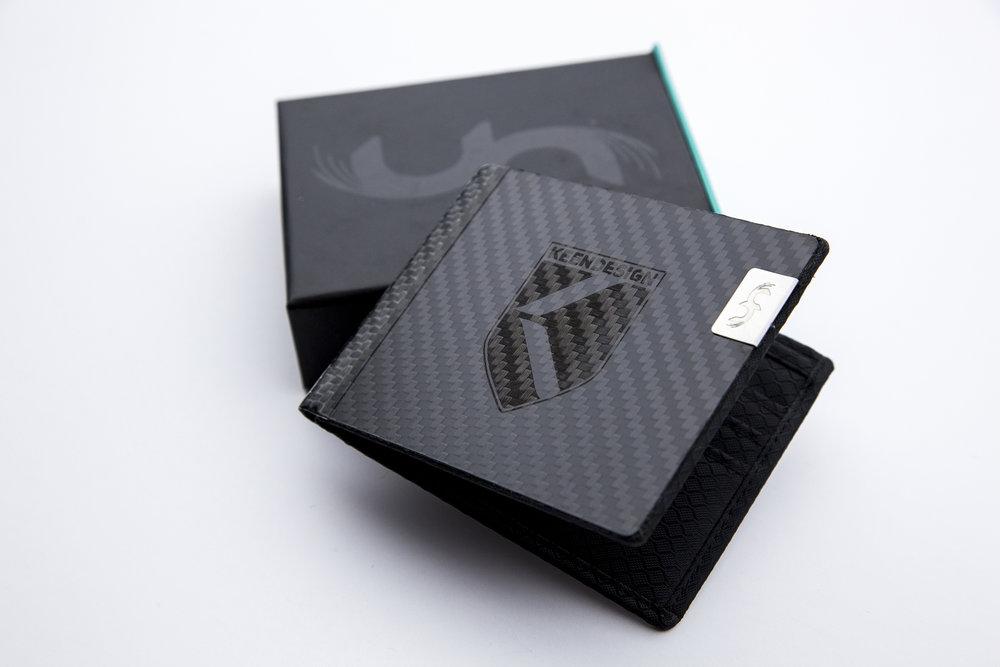 6142808bebf KEENDESIGN PRESALE Carbon Fiber Wallet — KEENDESIGN