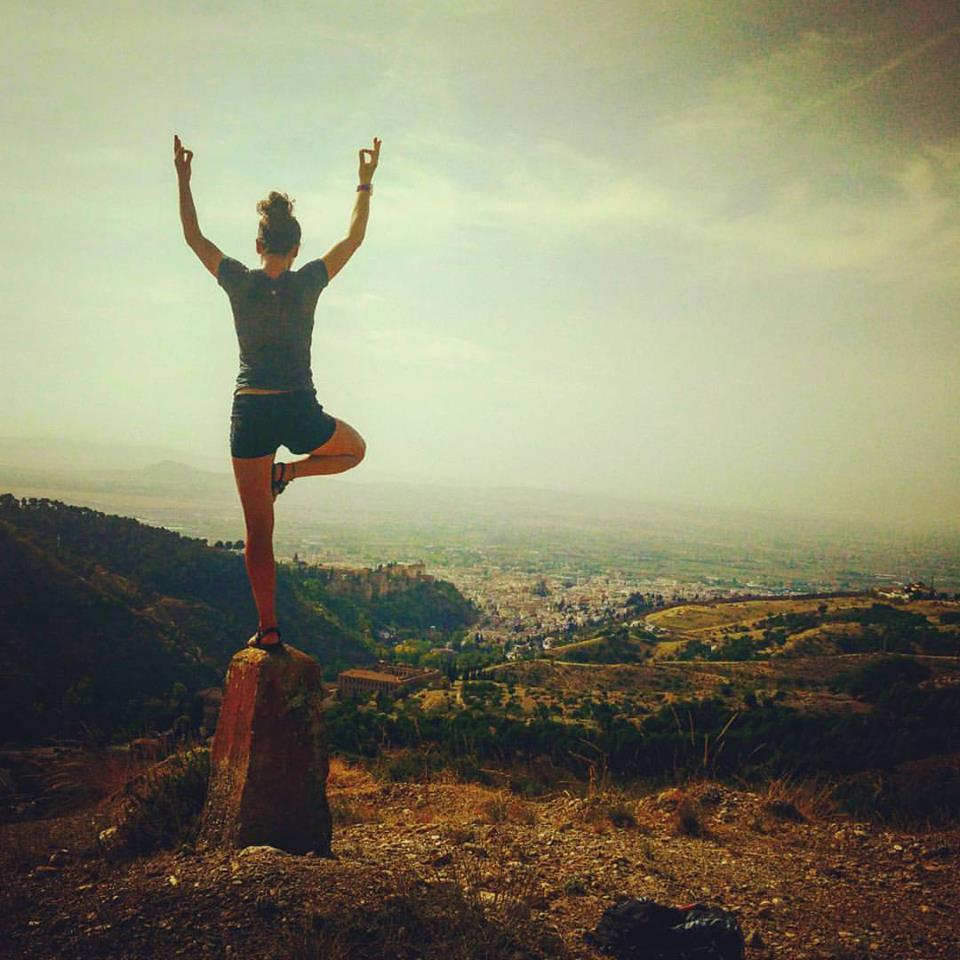 Hiking in Granada, Spain.  Photo credit to Serena Vandenberg