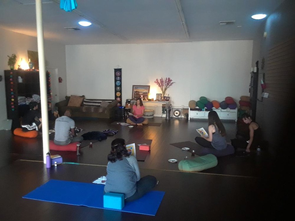Our first Mindfulness workshop in Long Beach, CA.