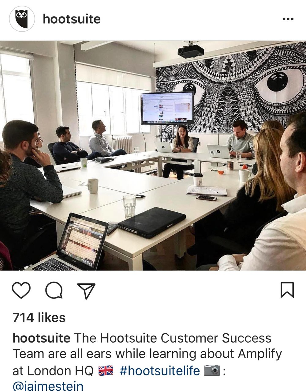 Hootsuite Customer Success Team - Stevie Says Social
