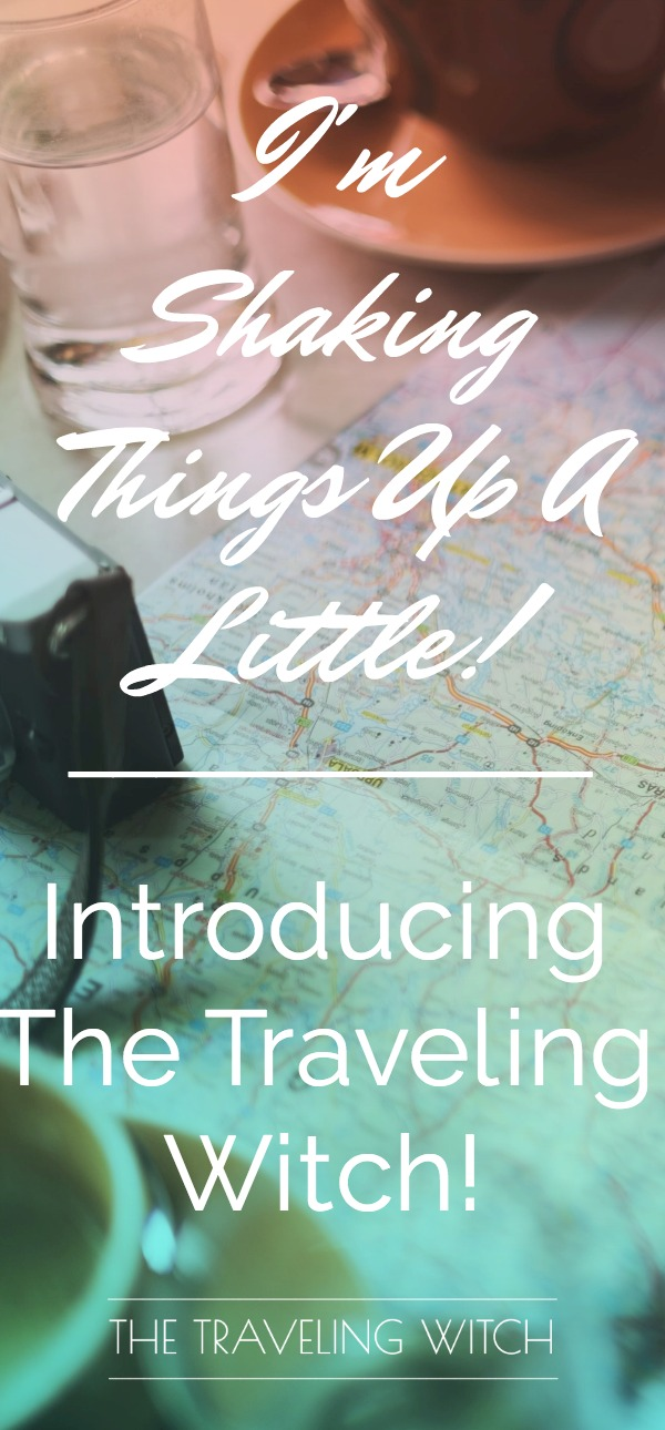 The Traveling Witch // Witchcraft For Nomads & Busy Bees