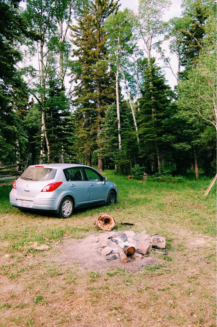Easiest camp set up ever! Just drive up and park.