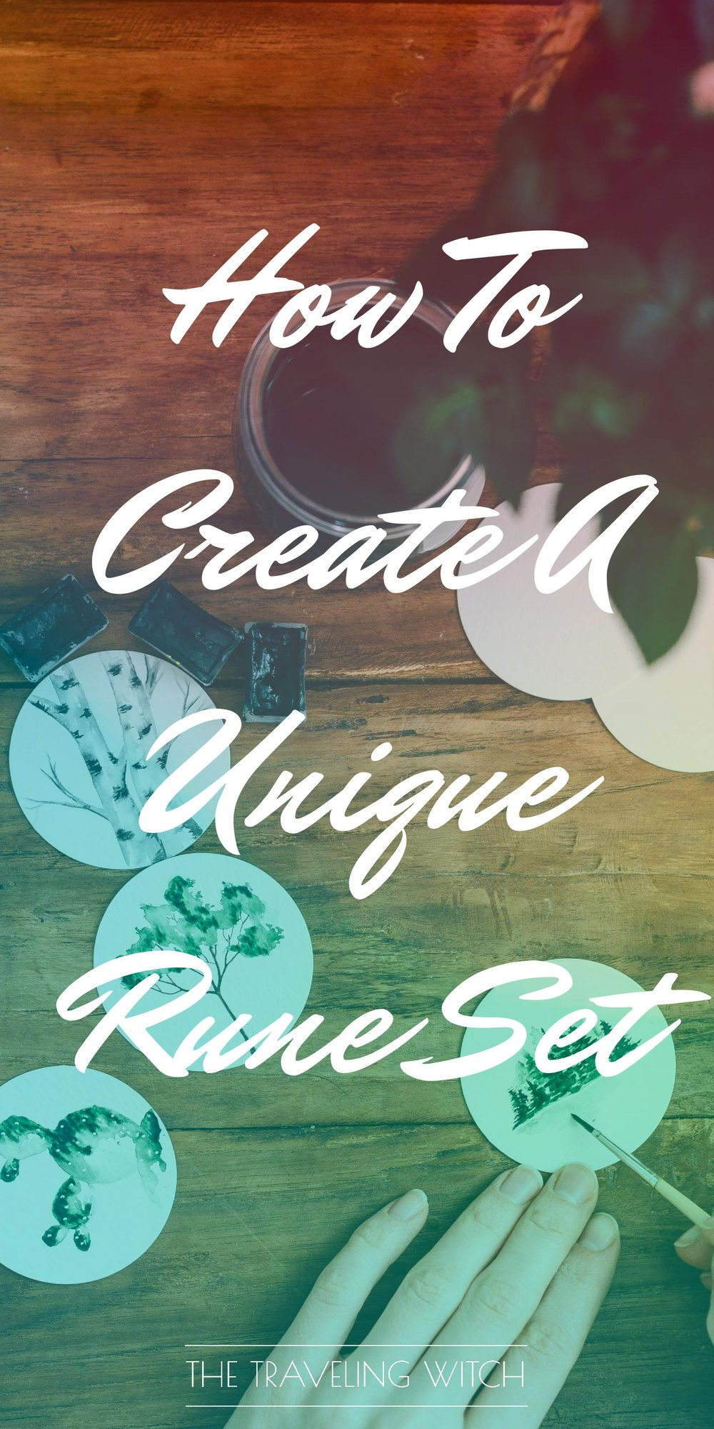 How To Create A Unique Rune Set // Witchcraft // Magic // The Traveling Witch