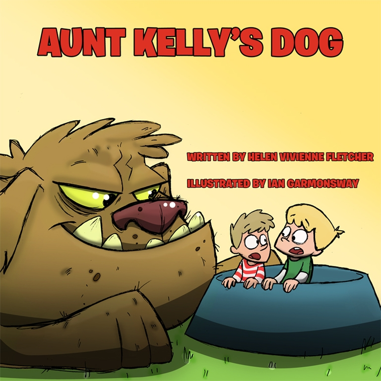 Davey and Micheal can't wait to meet Aunt Kelly's Dog... but what will they do if the dog is a big, scary, people-eating monster?