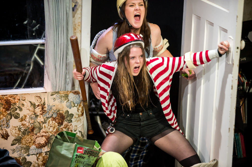 'Mel' and 'Stacey' in the 2015 Young and Hungry Season. Photo by  Stephen A'Court