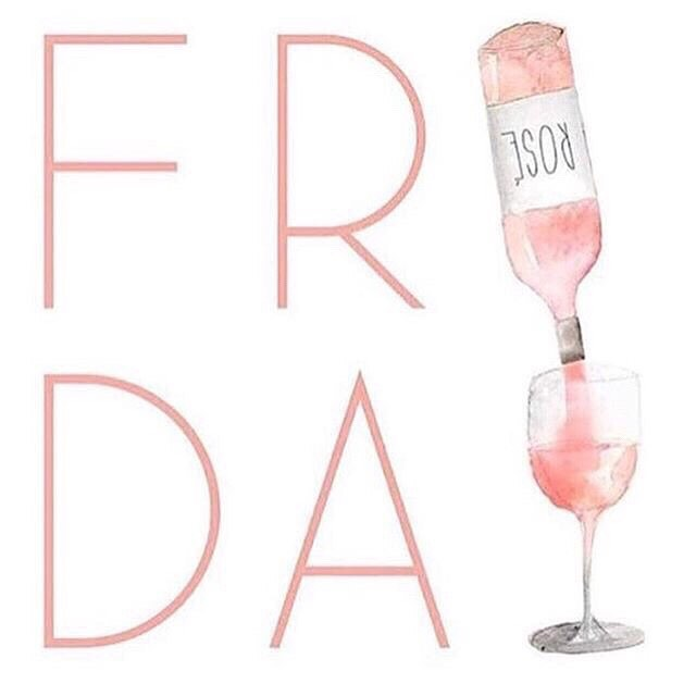 Here's to Friday 🥂
