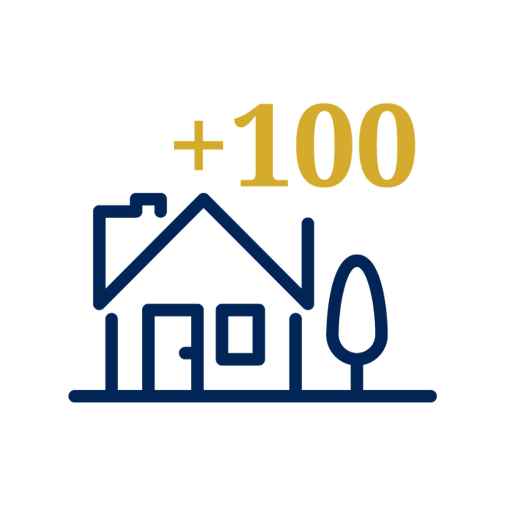 In the last 3 years we have sold over 100 homes, just in southwest Atlanta. -