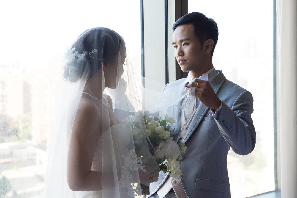 昌佑 + 芳儀 - 台北遠企 香格里拉