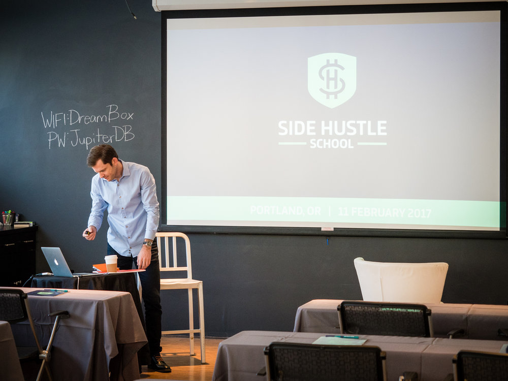 Photo via Chris Guillebeau on Flickr. Tune into Chris' #SideHustleSchool. New episode every day.