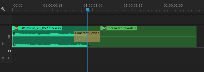 "Adjust where you transition from normal to ""wet"" to get the right sound"