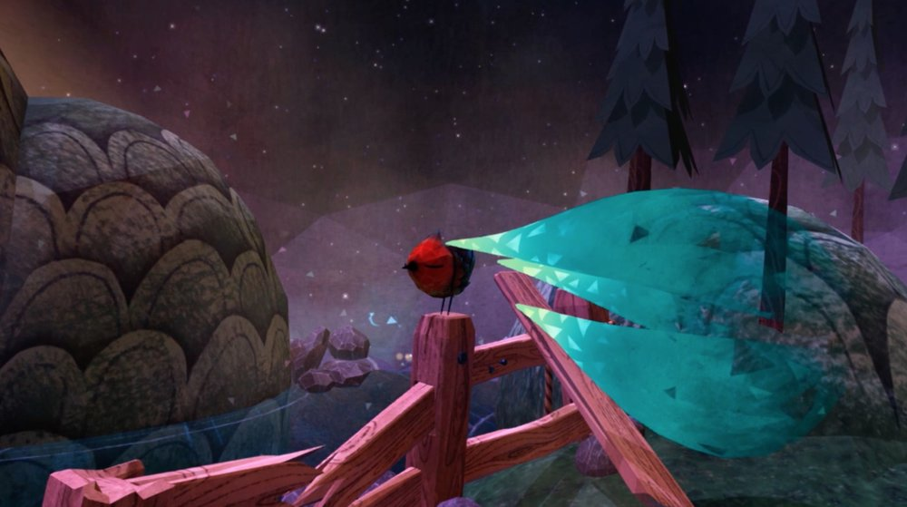 Do you want to pet a cute little bird in VR? Of course you do!