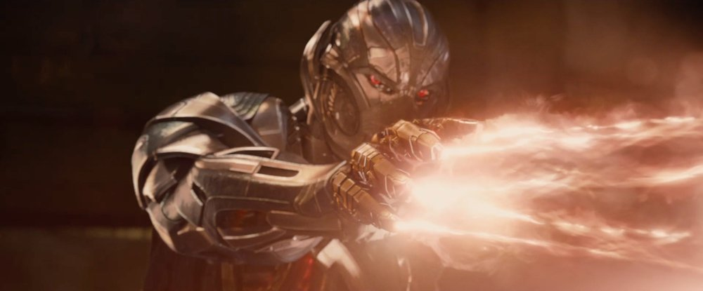 This was a big reveal in the first teaser, so by the third time we see Ultron in the campaign it doesn't feel new anymore.