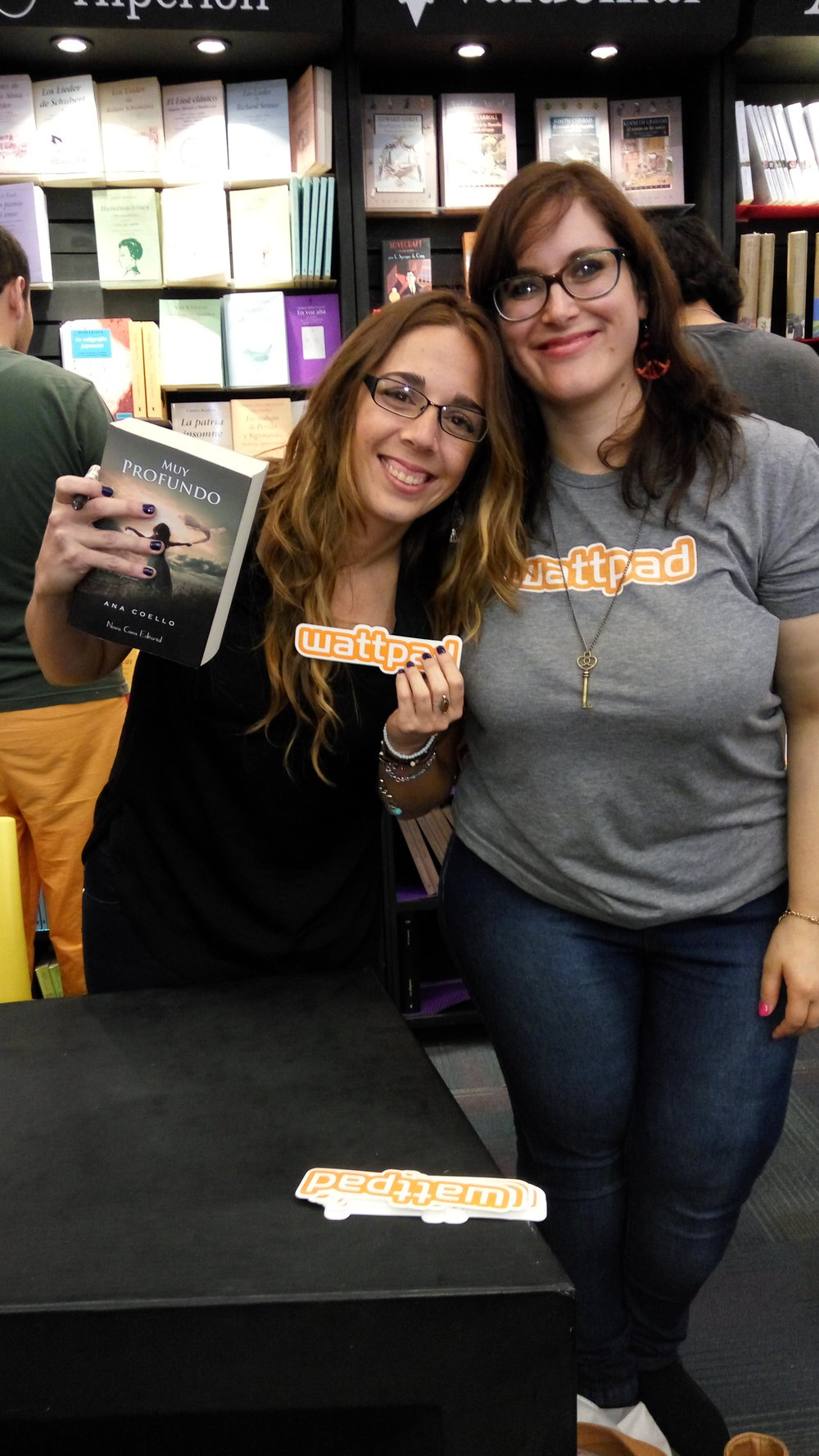 Natalia and Wattpad Star Ana Coello