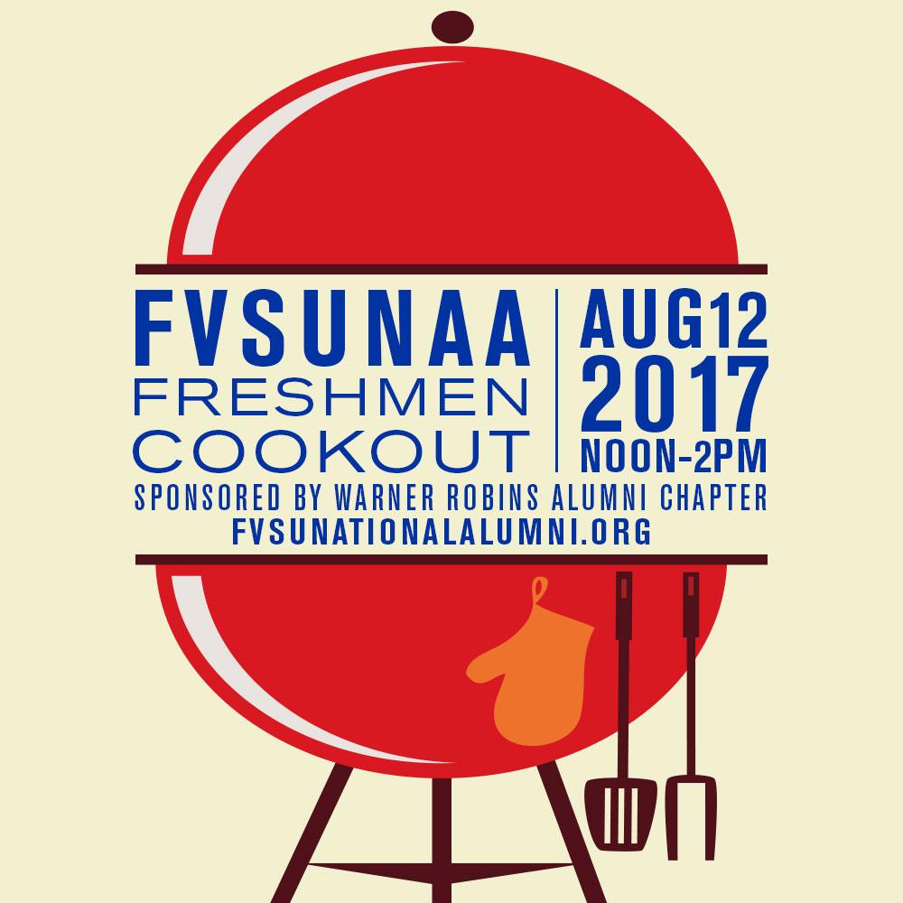 FVSUNAA Freshmen Cookout