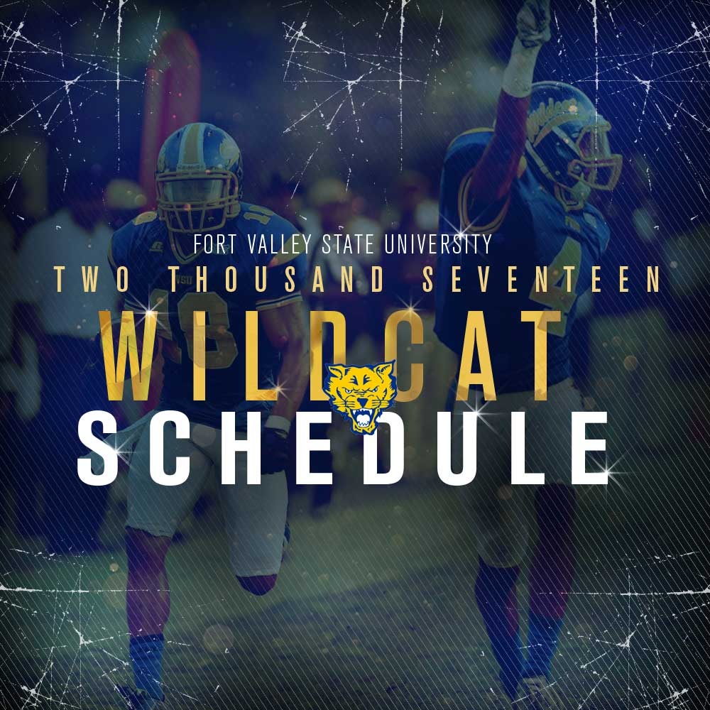 FVSU Wildcat Football Schedule 2017