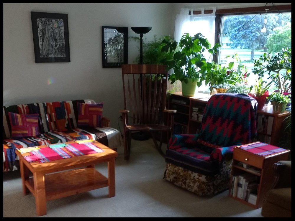 Listening Room in private home ©JenniferLevenhagen 2018