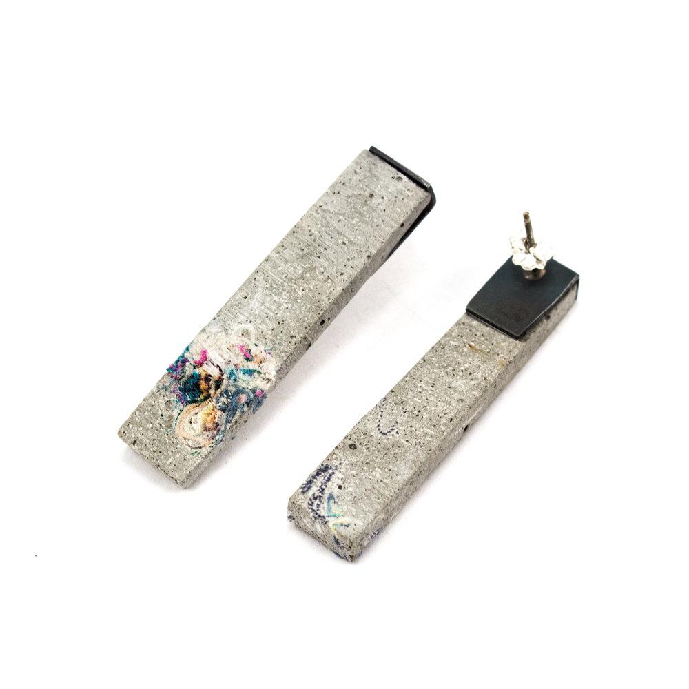 1 Prada_Shane_ Cement and fiber rectangle earrings.jpg