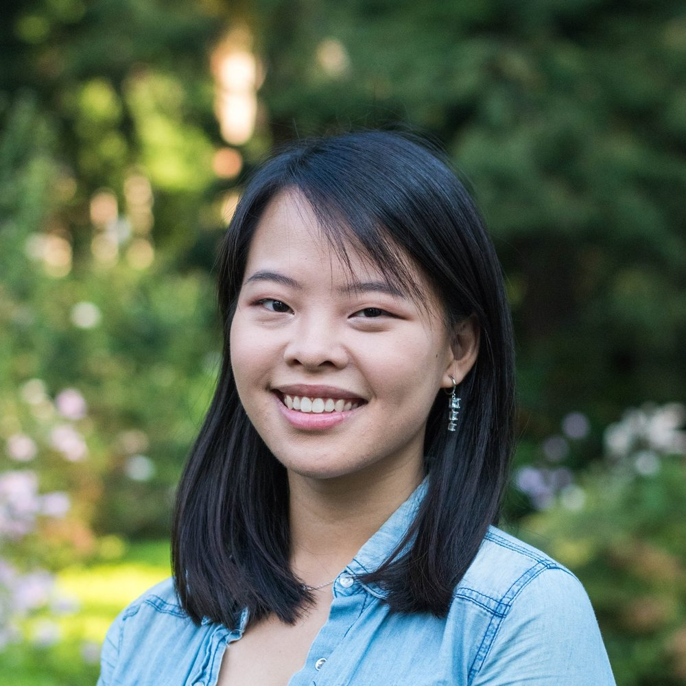 Audrey Shih '20    Audrey enjoys corn-y jokes, and not just because she's from Columbus, Ohio. A freshman in CBE, she also plays clarinet and dabbles in composition. Audrey's favorite things are chocolate, sunsets, books that smell good, and laughing too much at unfunny things.