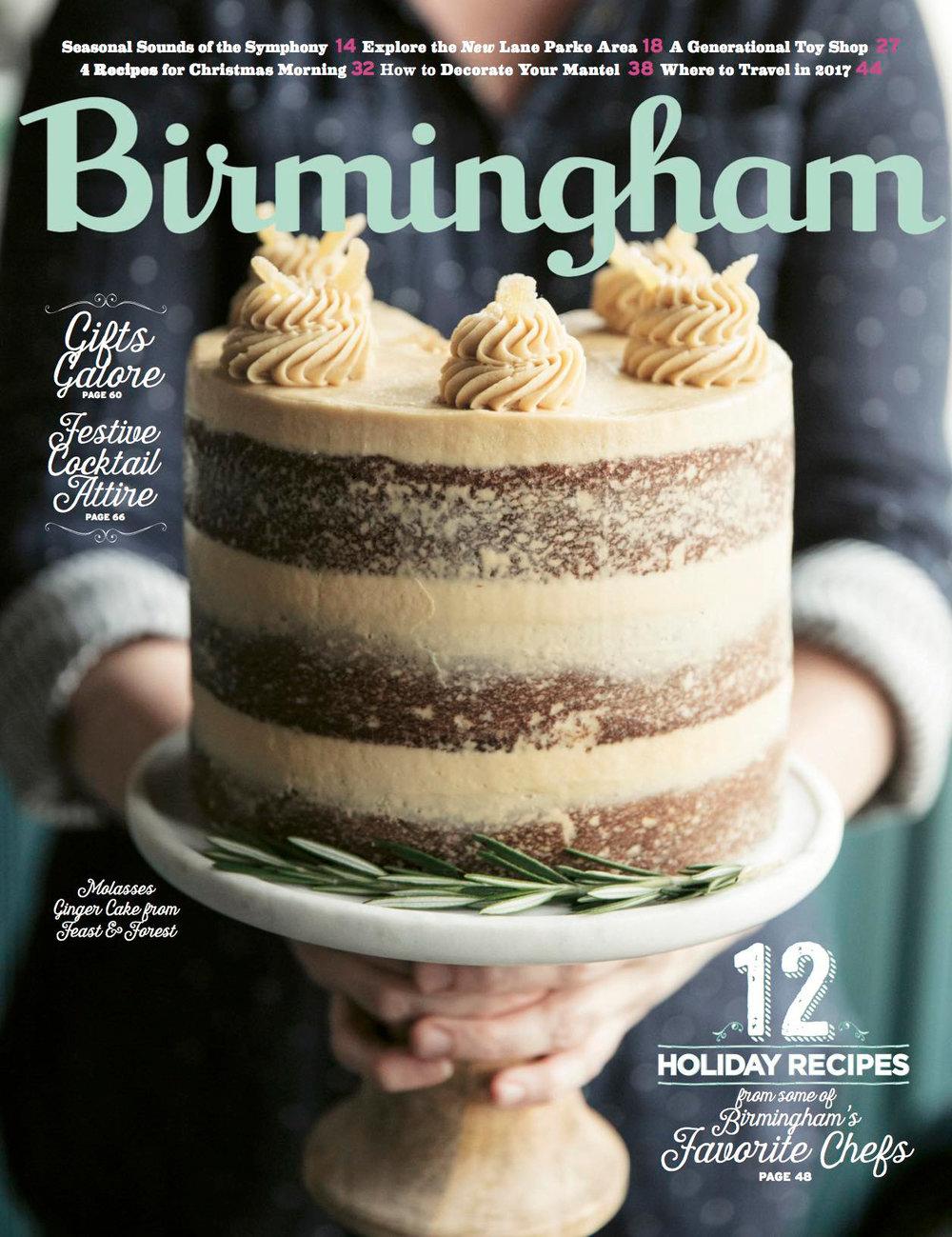 birmingham magazine - december 2016