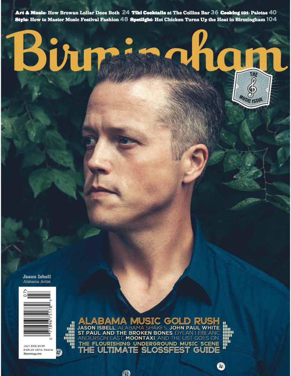 birmingham magazine - july 2016