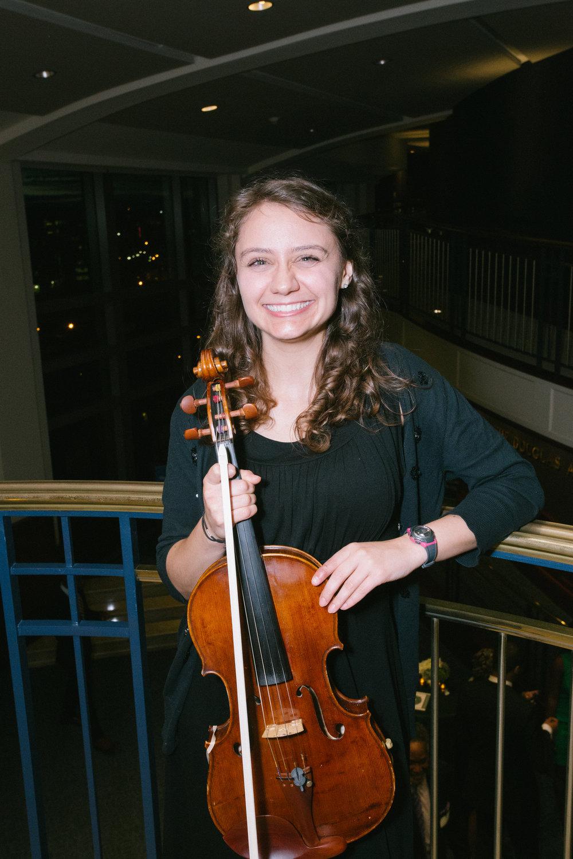 Kate Borden, viola