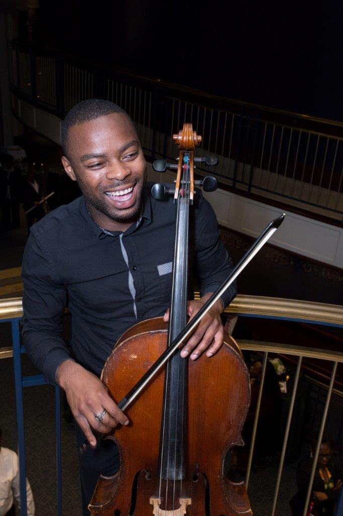 Jeremiah Welch, cello