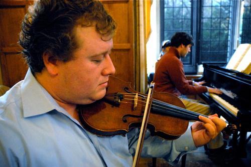 Benjamin Bodnar, violin