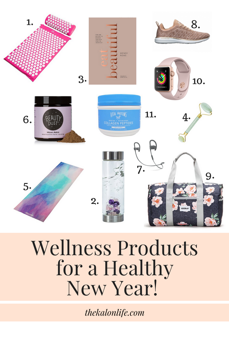 Wellness Products for a Healthy New Year