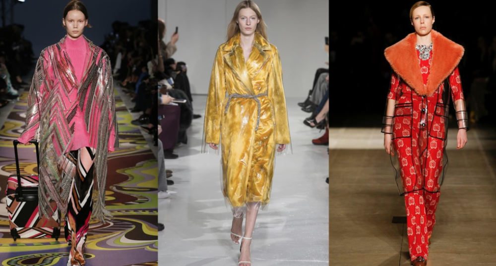 Image via Vogue.com; From Left to Right: Emilio Pucci, Calvin Klein Collection and Miu Miu