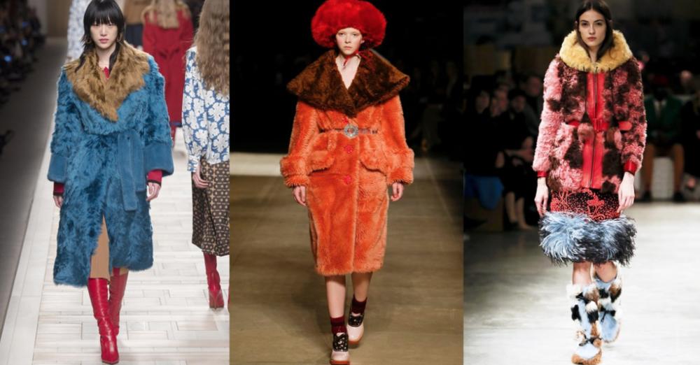 Image via Vogue.com; From Left to Right: Fendi, Miu Miu and Prada
