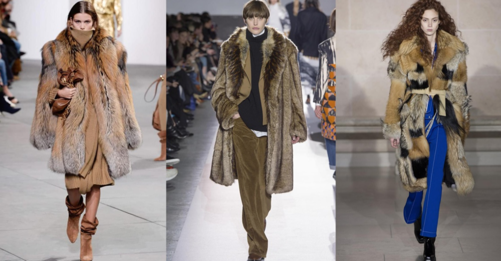 Image via Vogue.com; From Left to Right: Michael Kors Collection, Dries Van Noten and Louis Vuitton