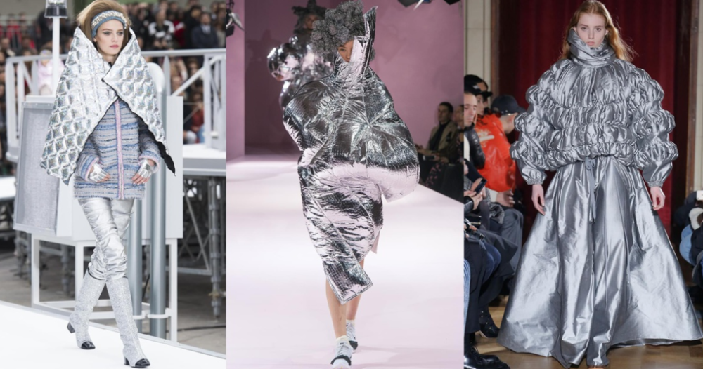 Image via Vogue.com; From Left to Right: Chanel, Comme des Garcons and Y/Project