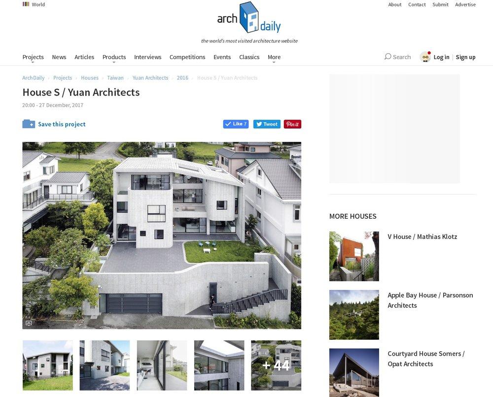 ArchiDaily | HOUSE S