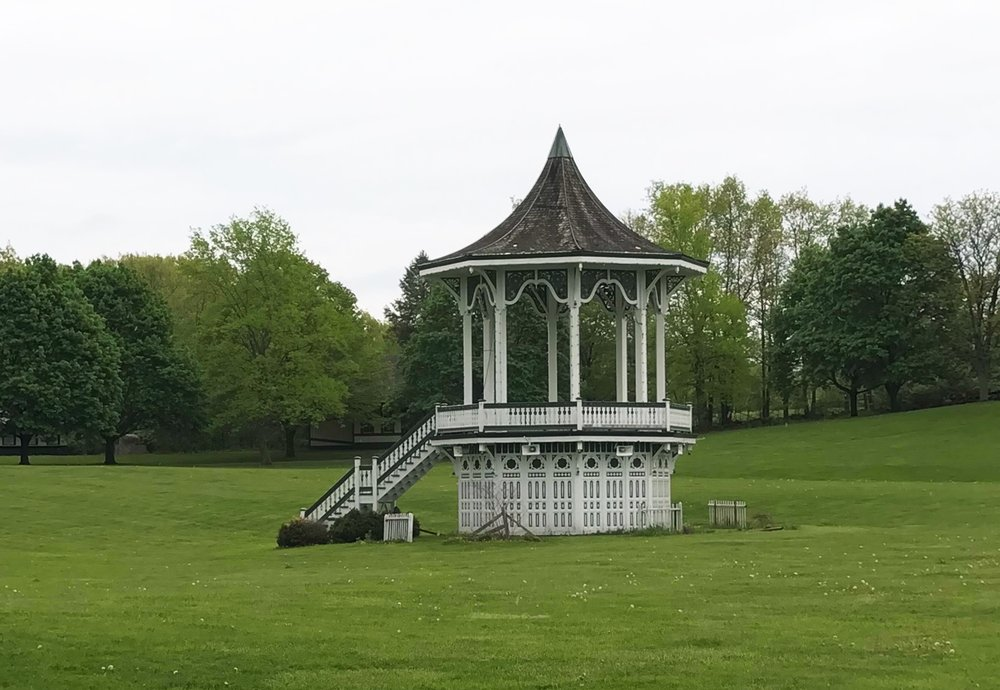 The Great Meadow with Bandstand