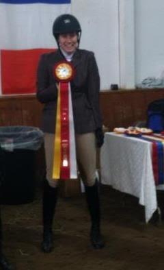 Sara Sandstrom, Alumni Over Fences Zone Reserve Champion 2013
