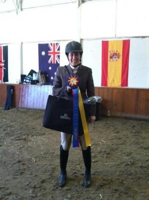 Sara Sandstrom, Alumni Over Fences Zone Champion 2012
