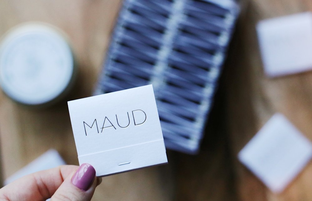 Tag us in your maud photos using the hashtag #maudcandleco for a chance to be featured on our IG page and recieve $10 store credit!