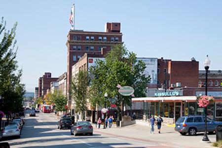 High Street, downtown Morgantown