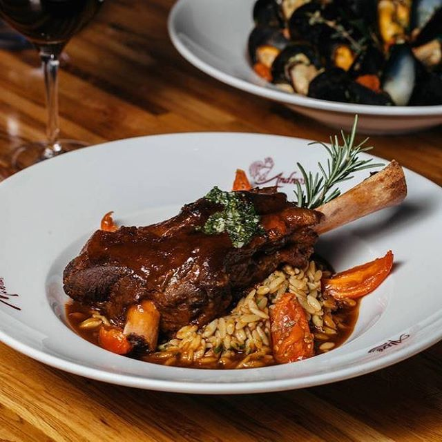 Wednesday dinner plans: let us do the cooking tonight! #braisedlambshank #vegasdining #food #vegaslocal