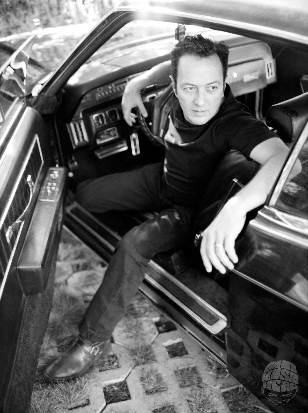 steven dewall_the clash_Joe Strummer_car.jpg