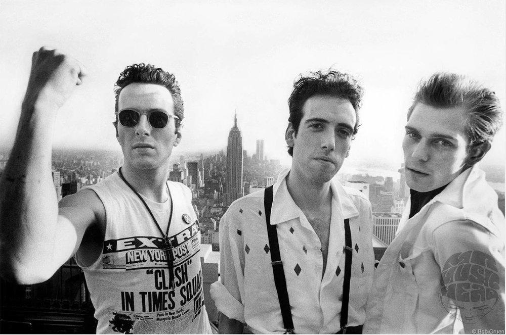 bob gruen_the clash_new york rooftop.jpg