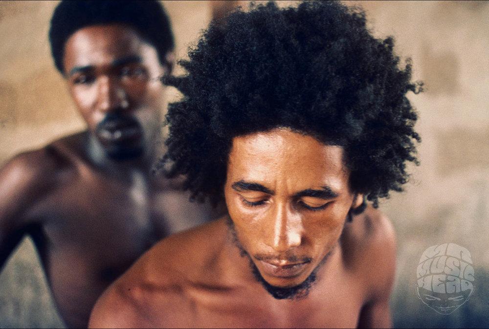arthur gorson_Bob Marley and Bread_1973.jpg