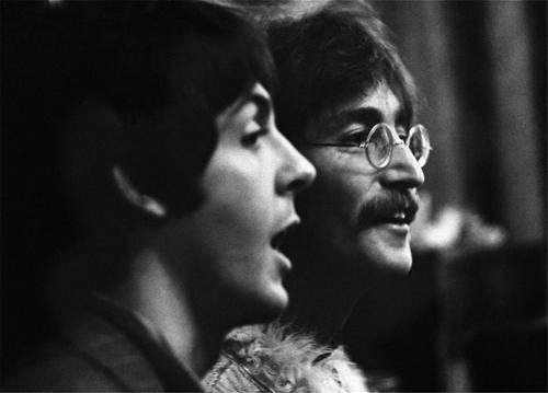 John Lennon Paul McCartney 1967 By Barrie Wentzell