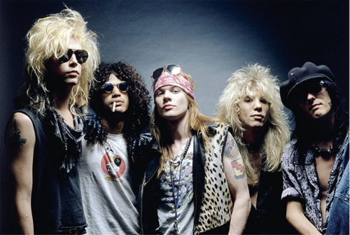 Image result for guns n roses 1987