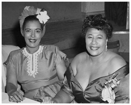 Billie Holiday & Ella Fitzgerald -   Bop City NYC  7-20-1950   .jpg