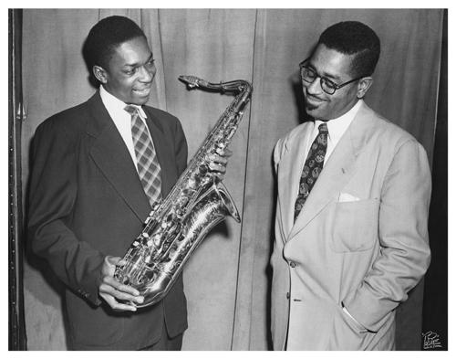 Coltrane, John & Dizzy Gillespie    NYC   1-19-1951  .jpg
