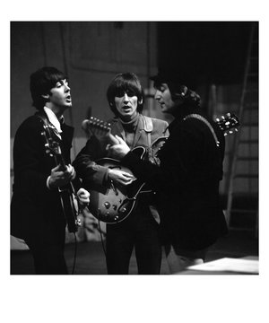 John Lennon Paul McCartney George Harrison 1964 By Robert Whitaker