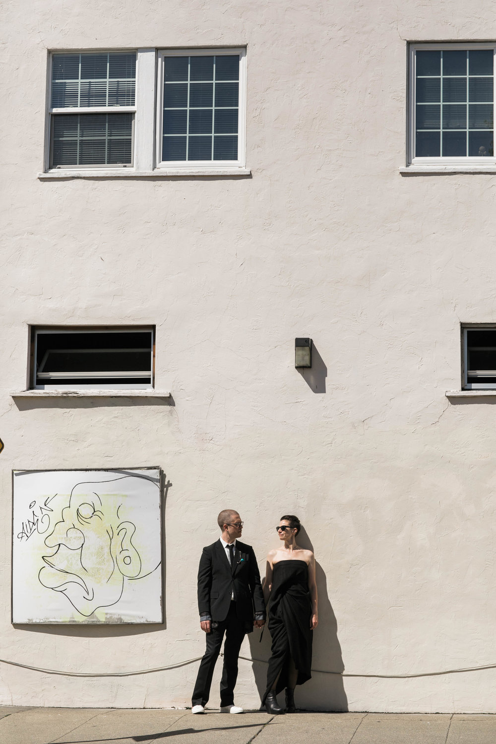 non-traditional oakland wedding