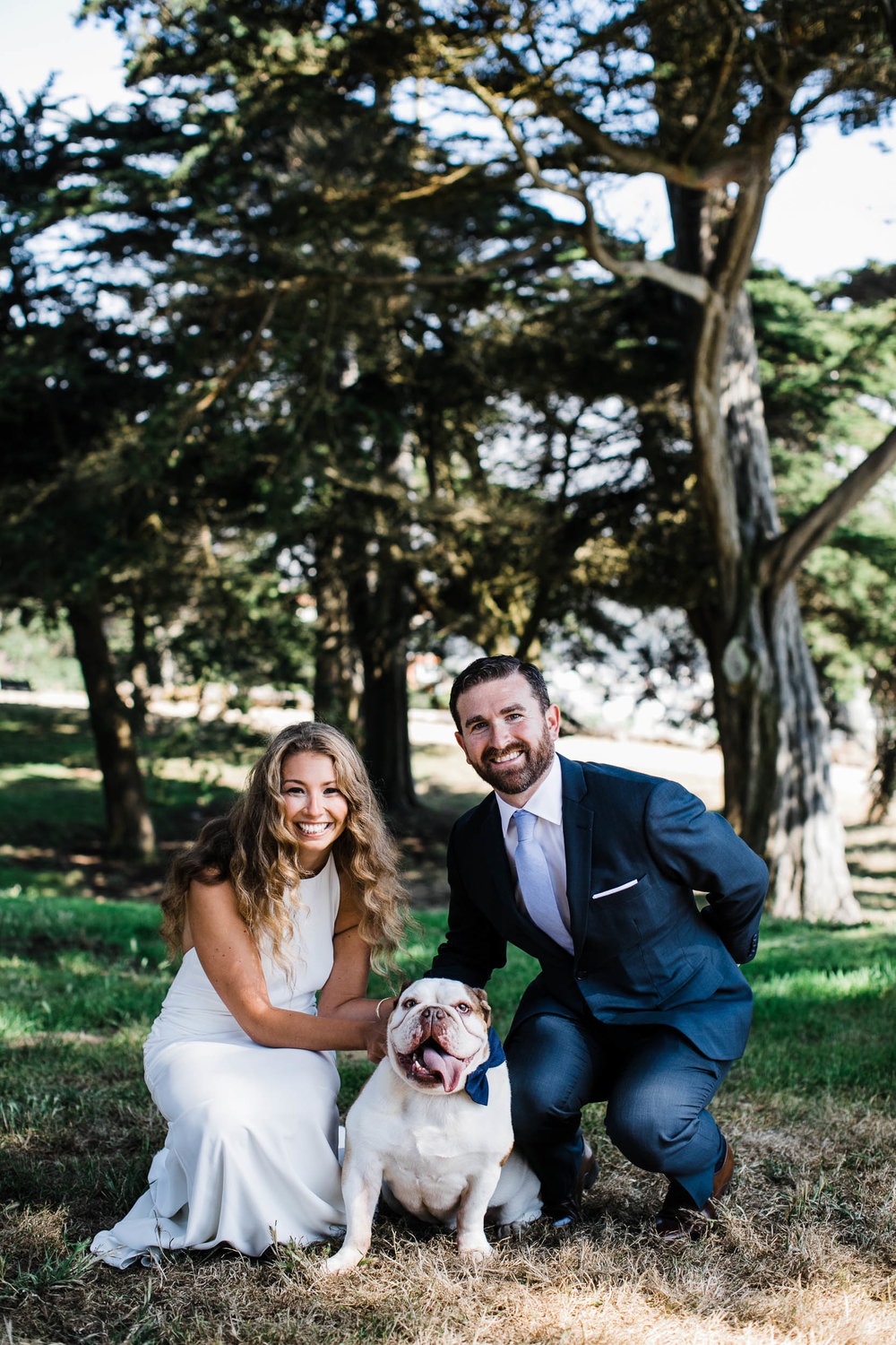 Intimate Sutro Heights Elopement San Francisco